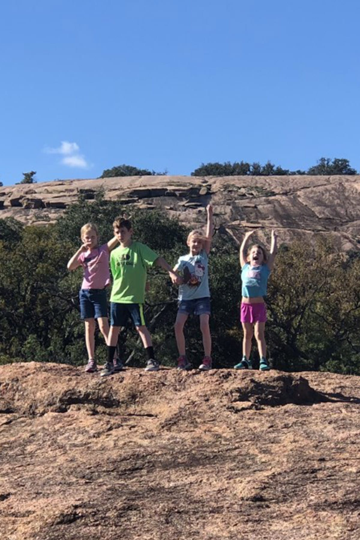 Enchanted Rock Fun