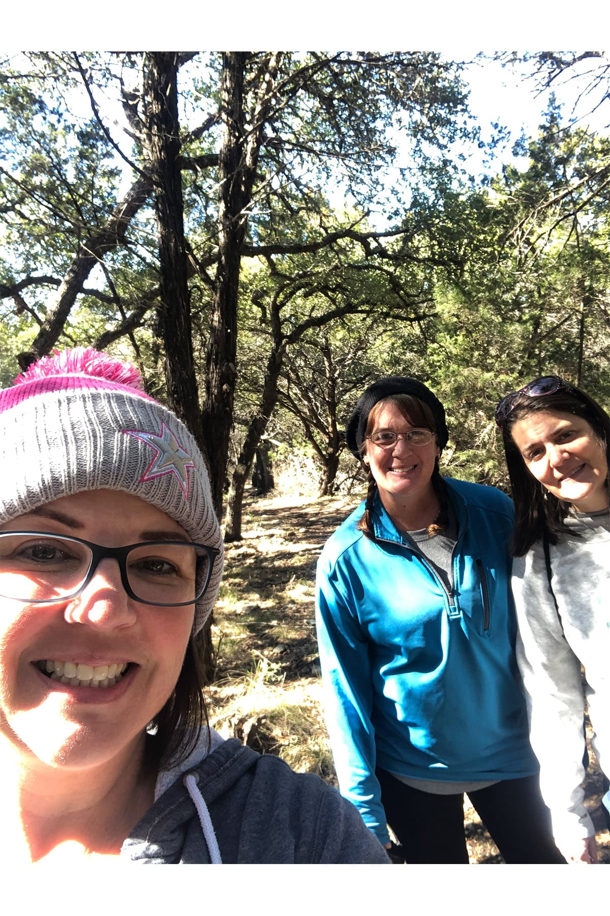 Hiking with my besties