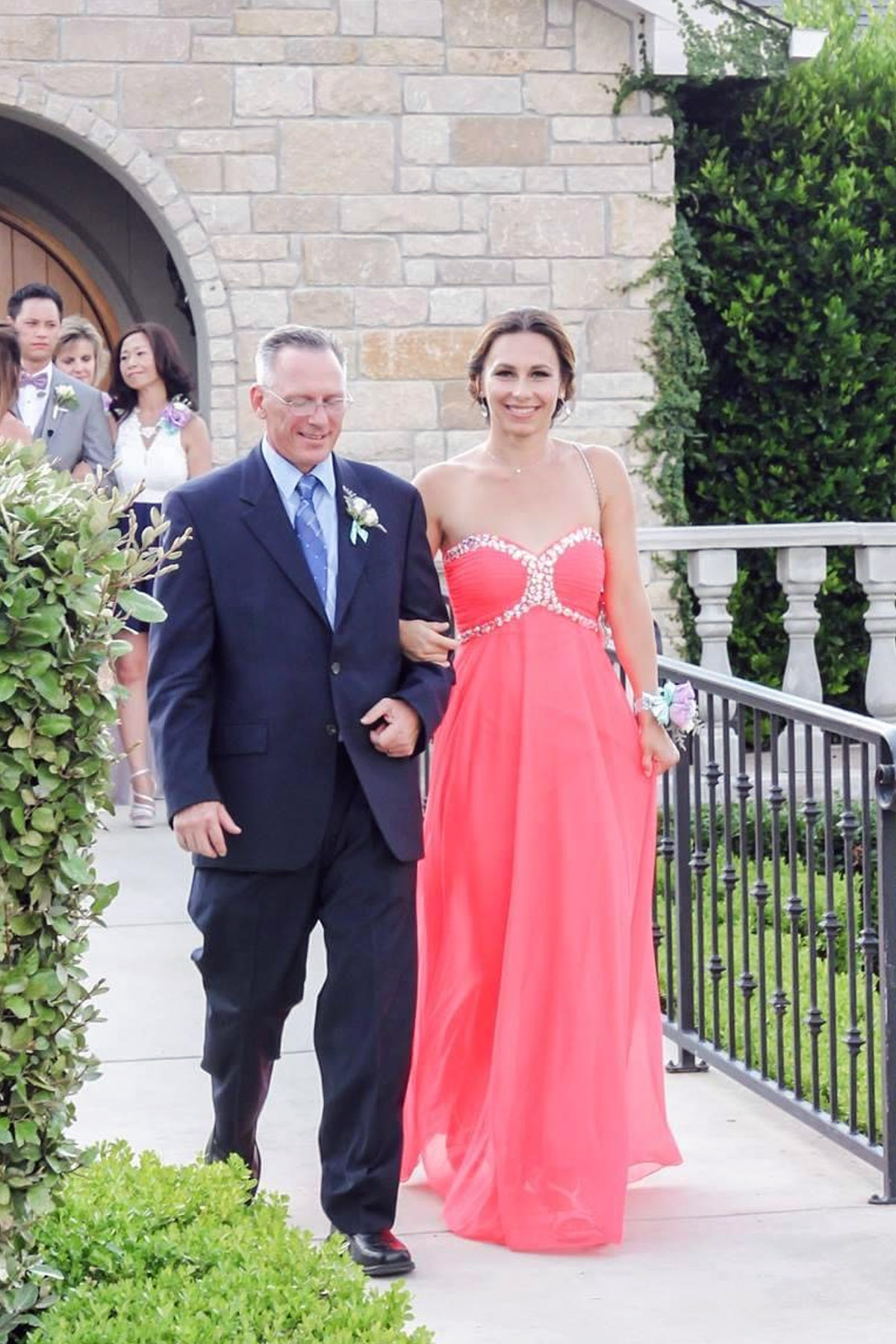 I and my husband John at our oldest son's wedding