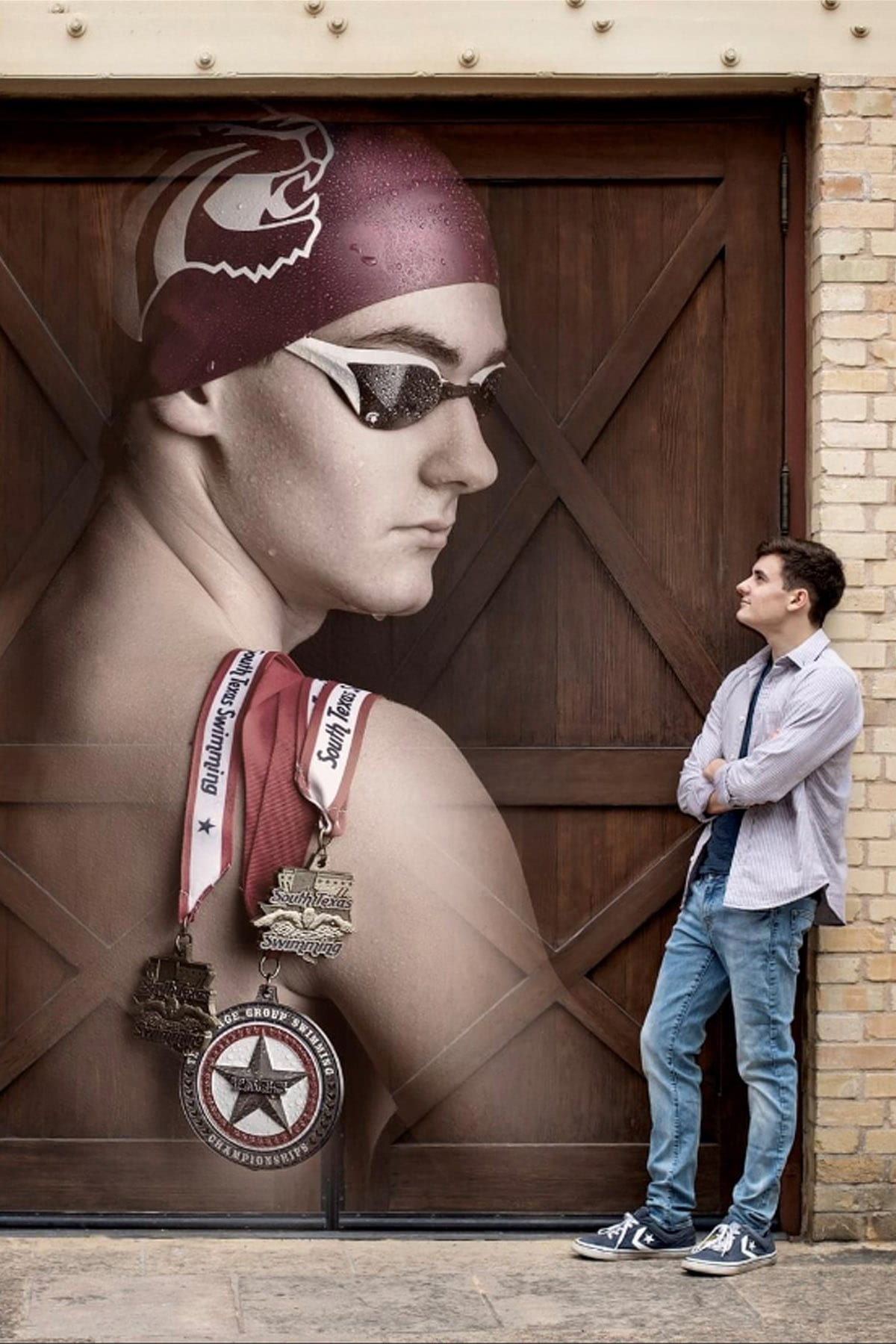 Swimming is a big part of our life. Christian is continuing his lifelong passion, swimming for Trinity University.
