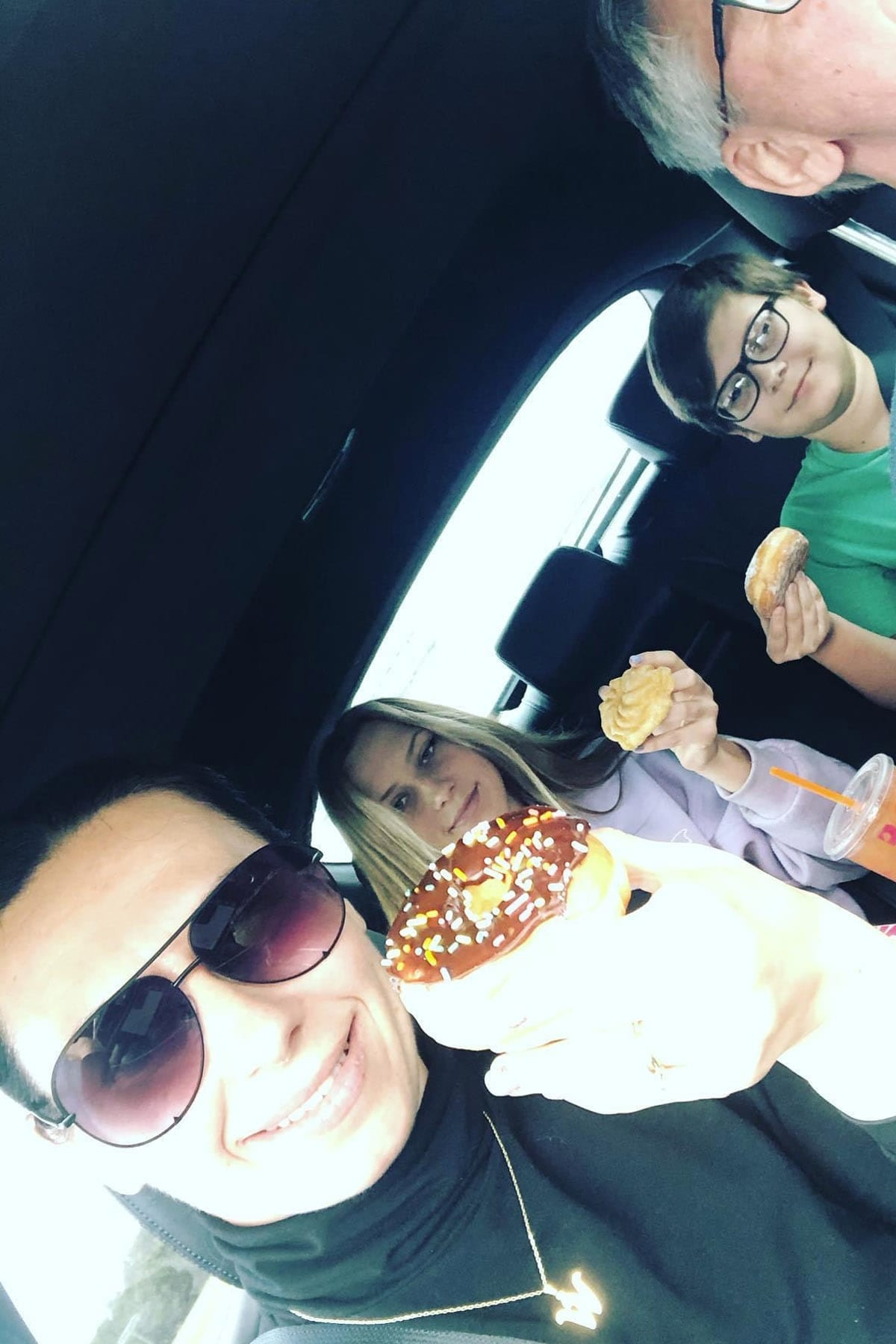 Family road trips are always fun!